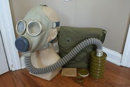 Chinese PLA Type 64B Gas Mask (1)