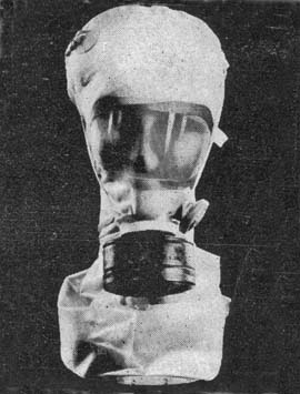 M7 Headwound Gas Mask