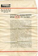 Istruzioni aggiuntive per P43 telefonica
