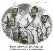 French chemical suits from wwi paired with the ars
