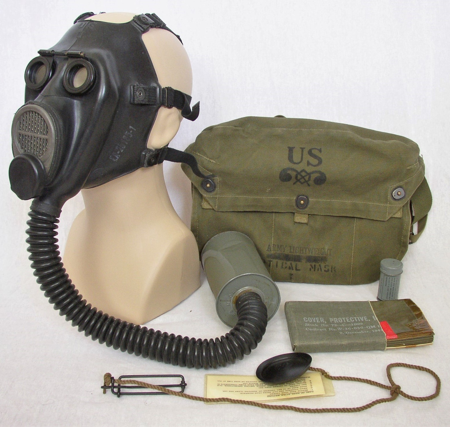 M2-10A1-6 Lightweight Optical Gas Mask