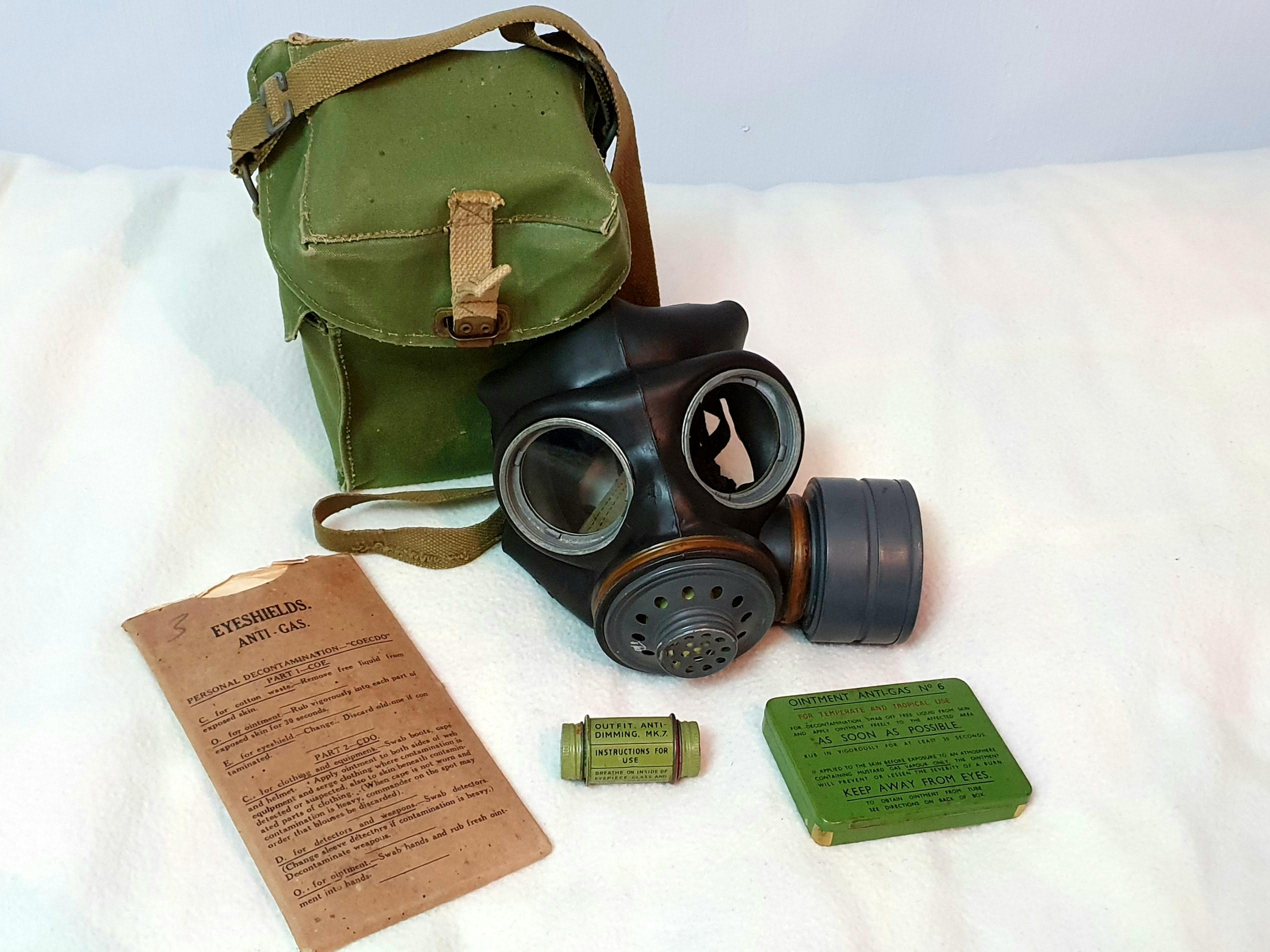 Respirator, Anti-Gas, Light (Post-War)