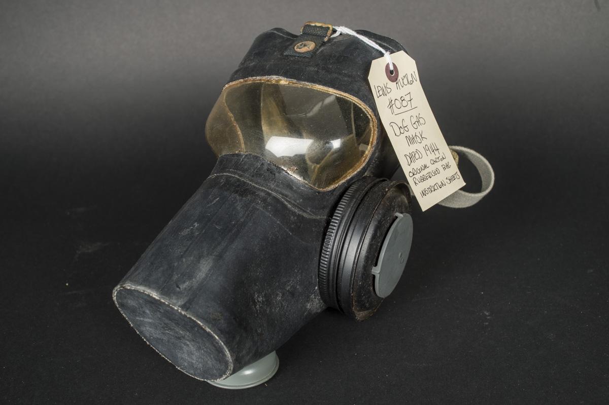 United States M6-12-8 Gas Mask