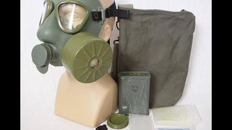 Yugoslavian Serbian M1 Gas Mask