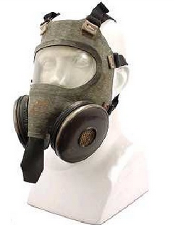 Navy Type N-C Gas Mask, Model A-1