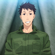 First Lieutenant Yoji Itami from introduction song Season 1 Anime