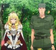 Bozes Co Palesti and Akira Tomita anounce they are a couple and pregnaunt Anime episode 24