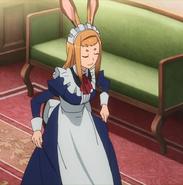 Mamina bowing to Itami Anime episode 7