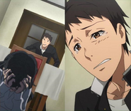 Teenage Itami drives his mother to madness by asking why she killed dad