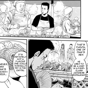 Hitoshi Furuta cooking at Imperial Gardens Manga chapter 30 page 13.png