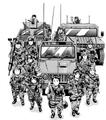 Third Recon Team Manga
