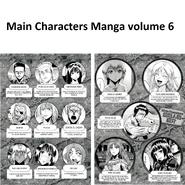 Main Characters Manga Volume 6