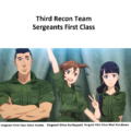 Tomita, Kuribayashi, and Kurokawa from the introductory music Season 1 Anime