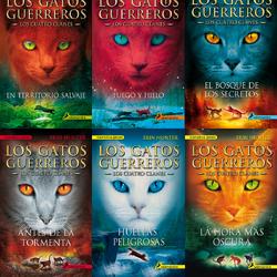 Libros de Los gatos guerreros
