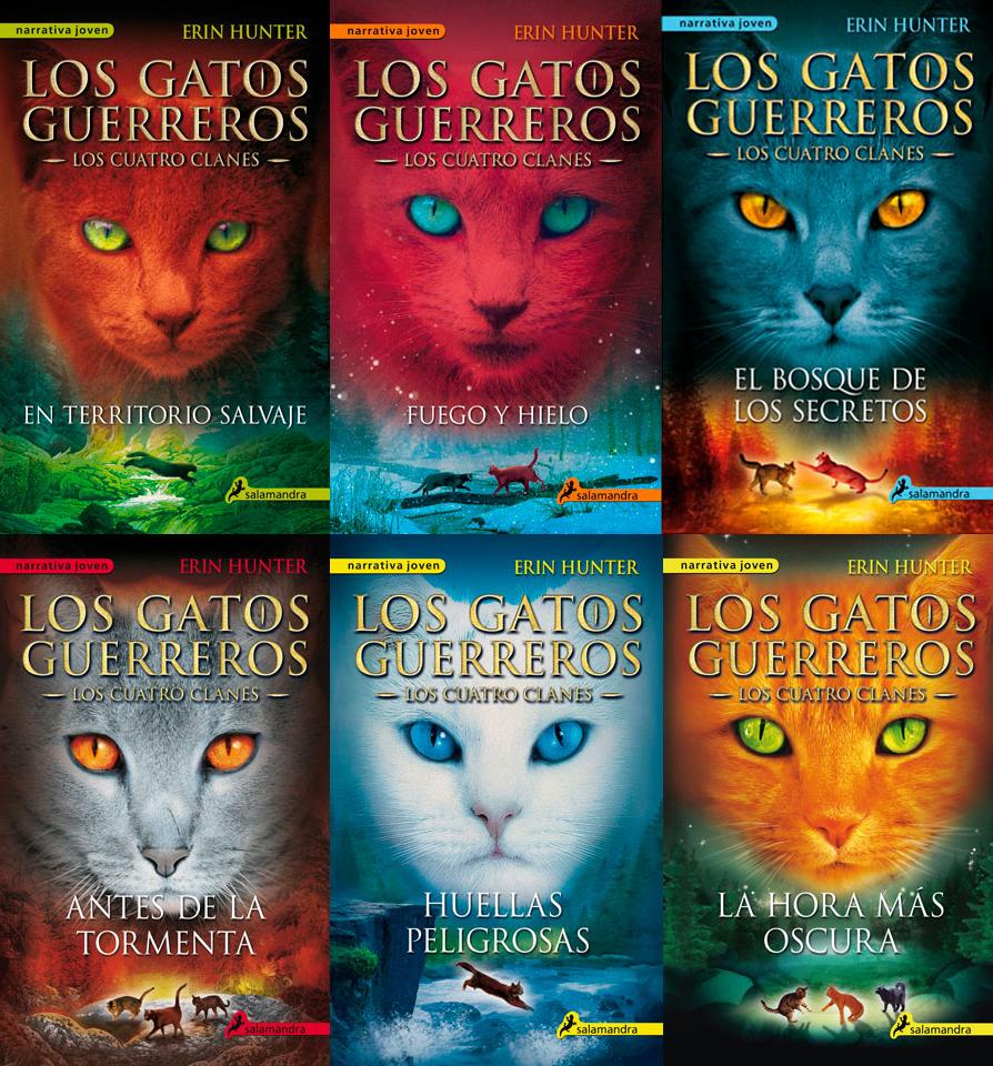 Libros De Los Gatos Guerreros Los Gatos Guerreros Wiki Fandom