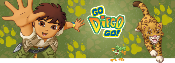 Nickelodeon Nick Jr Go Diego Go Show Banner.png