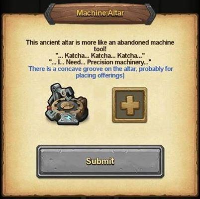 Machine Altar