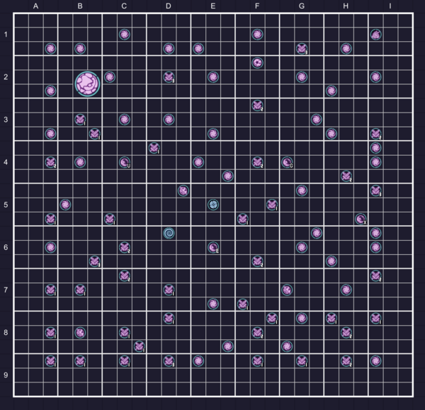 Map of Order Field M-01