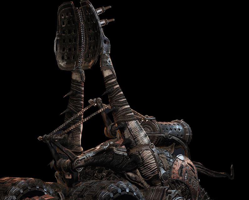 Siegebeast Catapult