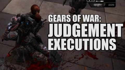 All Gears of War Judgement Executions