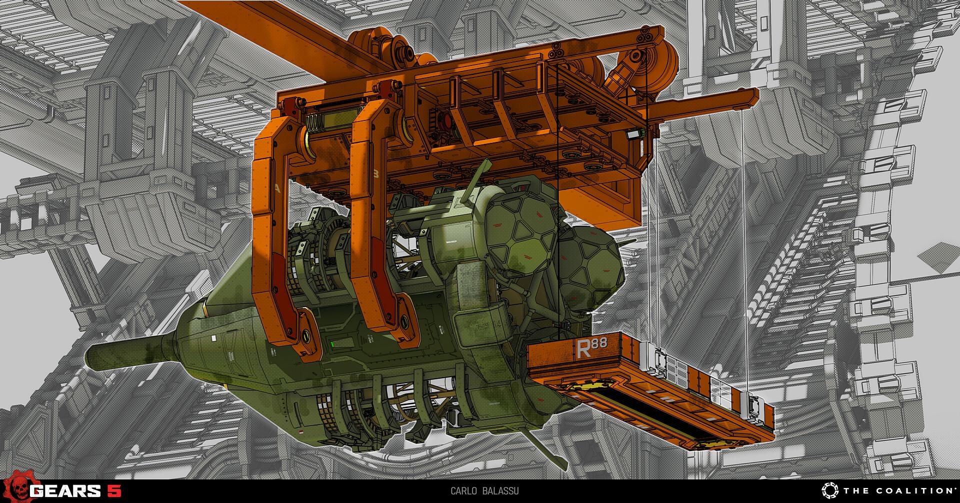 Rocket Gantry Crane