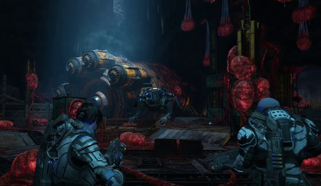 Gears 5 Abandoned Mine Snatcher chamber.png