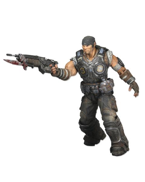 Marcus Fenix (Action Figure) Series One (GOW3)