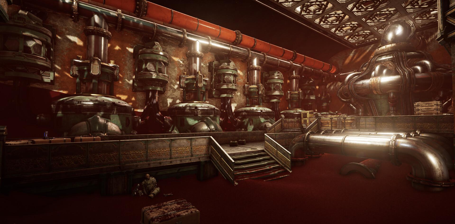 Gears 5 Pump Station interior.png