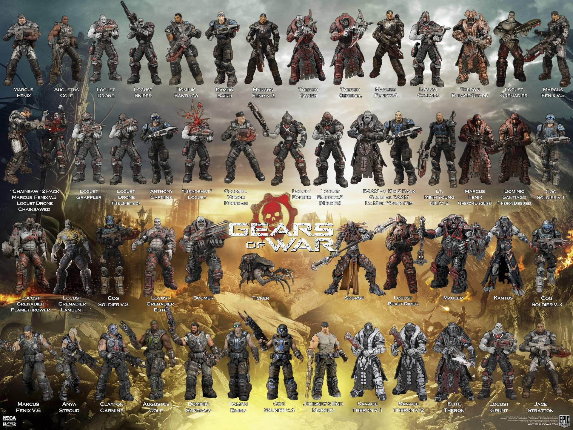 Gears of War Action Figures