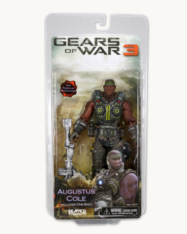 Augustus Cole (Action Figure) Series Two (GOW3)