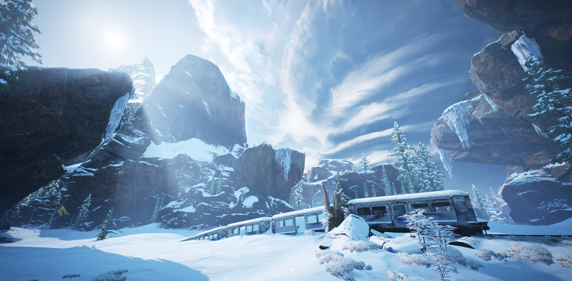 Gears 5 Train Tunnel wreck.png