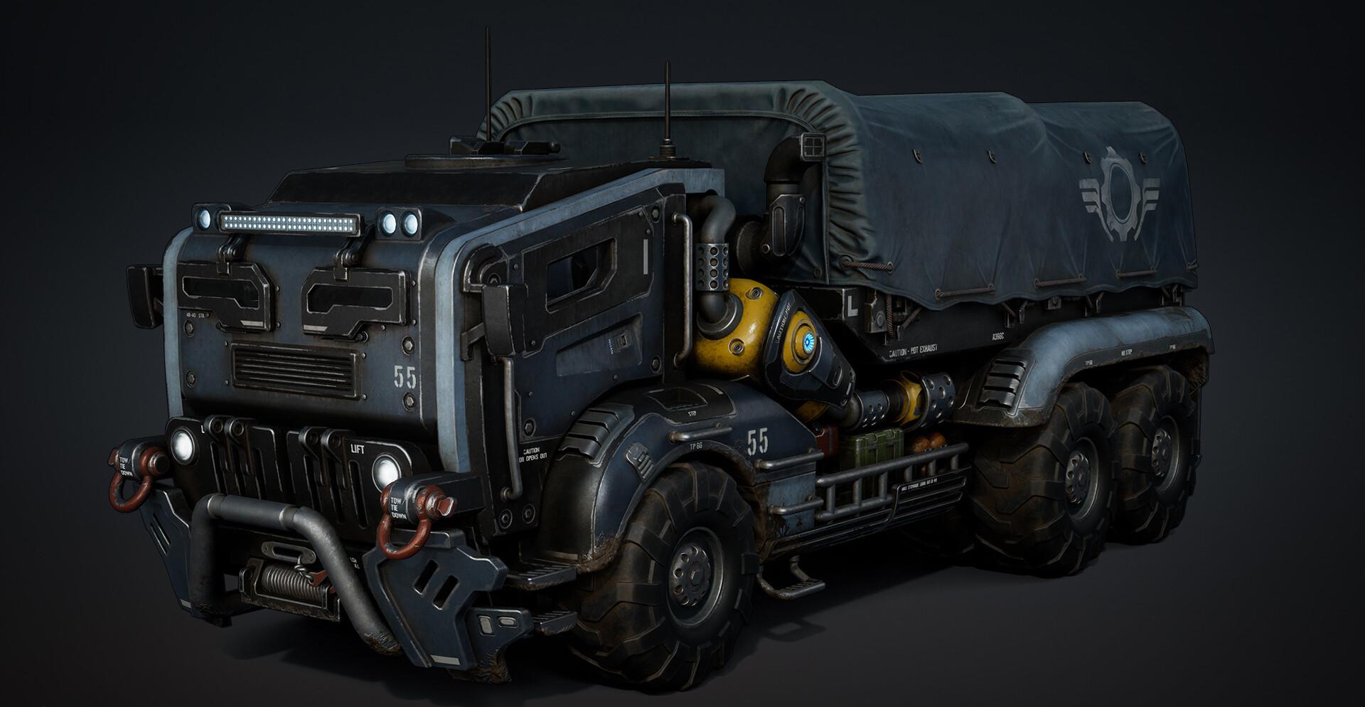 Minotaur Armored Transport