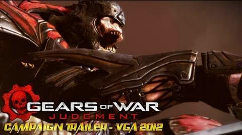 Gears of War Judgment - Campaign Trailer - VGA 2012