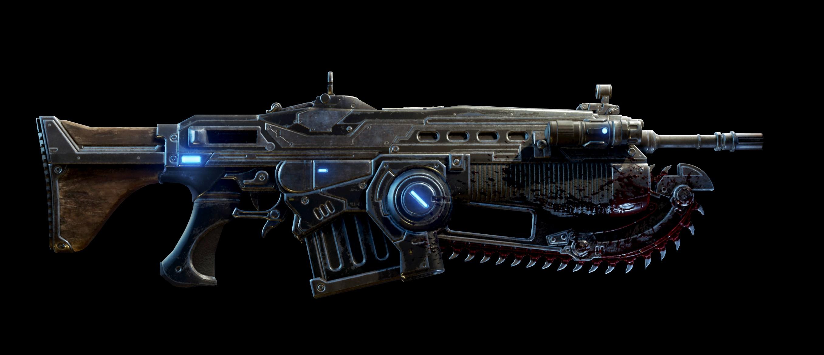 Gears Of War Weapon List