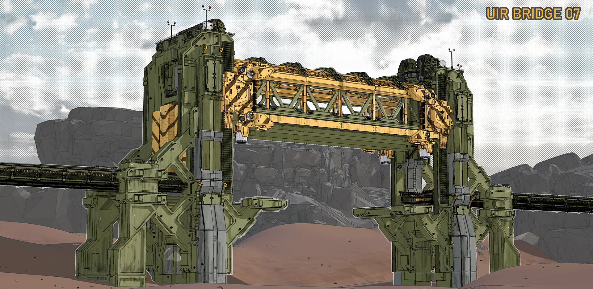 Gears 5 Train Bridge concept.png