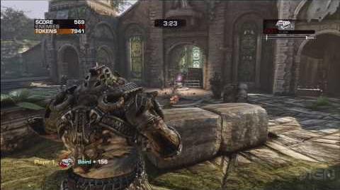 Gears of War 3 Gameplay Beast Mode - E3 2010