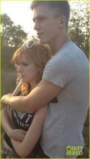 Bella-thorne-and-tristan-in-africa