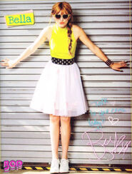 Bella-thorne-in-yellow-for-magazinne-poster