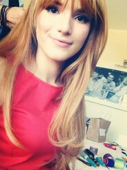 Bella-thorne-in-nice-red