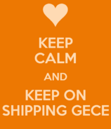 Keep-calm-and-keep-on-shipping-gece poster