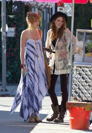 Bella-thorne-white-dress-with-a-pal