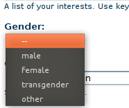 Drupal.org gender discussions