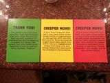Creeper Move cards