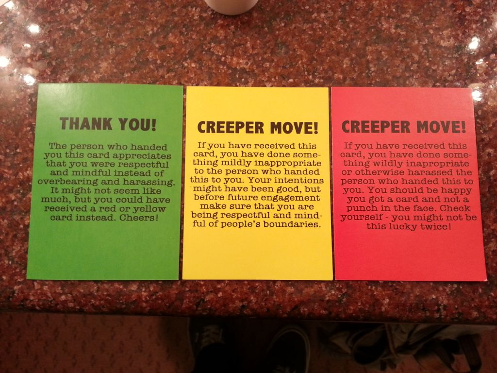 Creeper Move cards