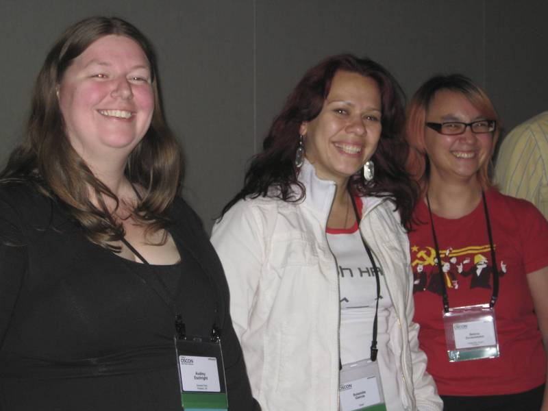 Women at OSCON 2008