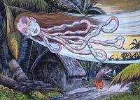 Kubi-Obake Illustration