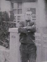 Shigeru Mizuki at age 18