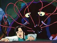 Odoro-Odoro attacking Yumeko