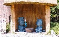 Kappa & Tanuki statue