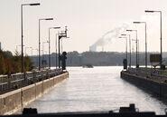 Germany Rhein-Herne-Kanal Schleuse Herne (3)
